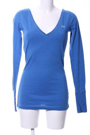 Gilly Hicks Longsleeve blau Casual-Look