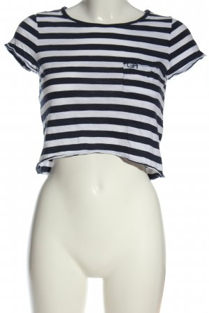 Gilly Hicks Camisa de rayas azul-blanco look casual