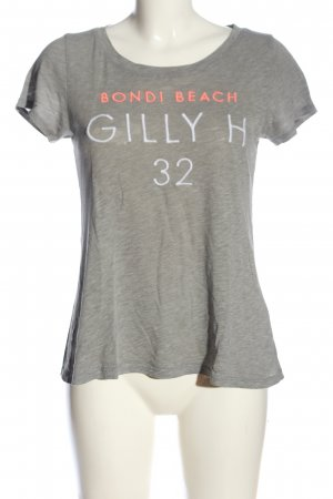 Gilly Hicks T-Shirt hellgrau meliert Casual-Look