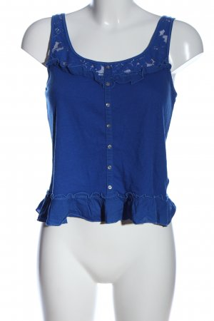 Gilly Hicks Volanttop blau Casual-Look