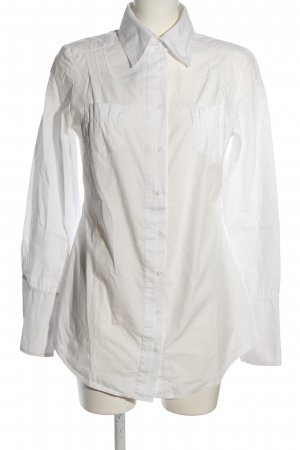 Gin Tonic Blouse-chemisier blanc style d'affaires