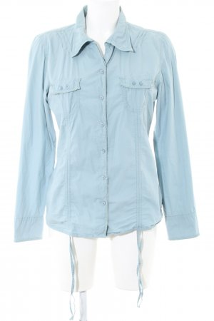 Gin Tonic Hemd-Bluse blau Casual-Look