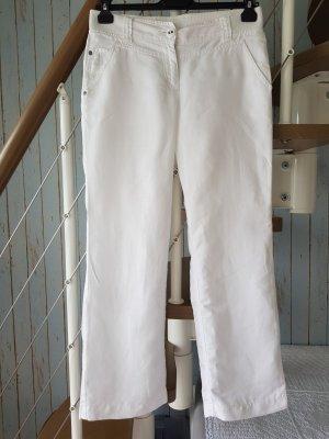 Gin Tonic Pantalón tipo suéter blanco