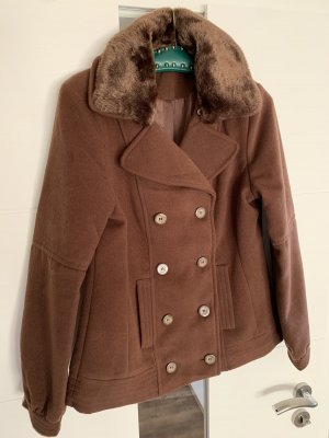 Gina Pea Jacket brown