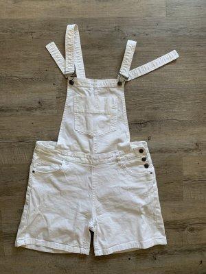 G!na Bib Shorts white
