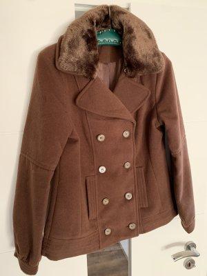 Gina Marynarska kurtka brązowy