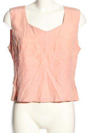 Gina B ärmellose Bluse pink Casual-Look