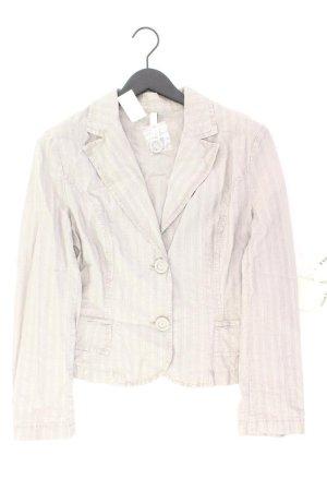 Gina B Heidemann Blazer Größe 42 neu mit Etikett grau aus Baumwolle