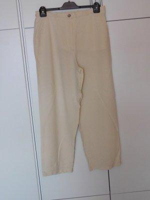 GINA B HEIDEMANN Linen Pants cream linen