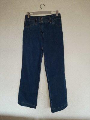 Gina B Marlene Denim steel blue cotton