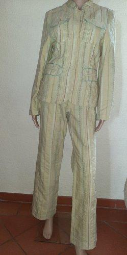 Gina B Tailleur-pantalon multicolore coton
