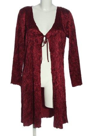 Gina Bacconi Badjas rood abstract patroon casual uitstraling