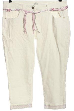 Gina Benotti Jeansy 7/8 w kolorze białej wełny W stylu casual