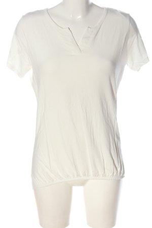 Gina Benotti Basic-Shirt weiß Casual-Look