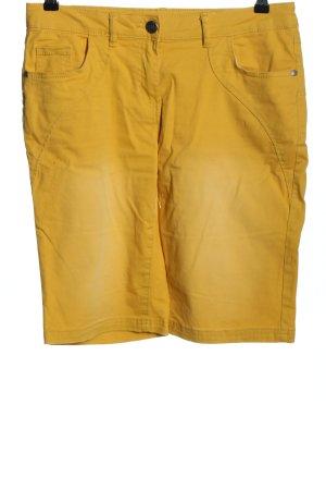 Gina Benotti Bermuda giallo pallido stile casual