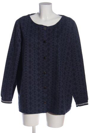 Gina Benotti Bomber Jacket blue-black abstract pattern casual look
