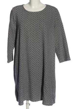 Gina Benotti Cocktailkleid schwarz-weiß abstraktes Muster Casual-Look