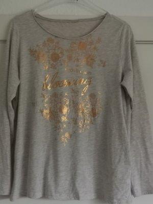 ",,Gina Benotti"" Damen-Langarmshirt/beige"