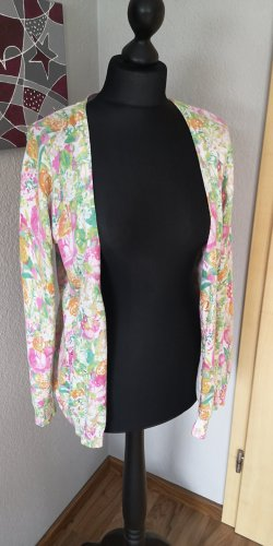 Gina Benotti Damen Strickjacke dünner Cardigan bunt Größe M 38 40