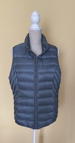 Gina Benotti Quilted Gilet slate-gray