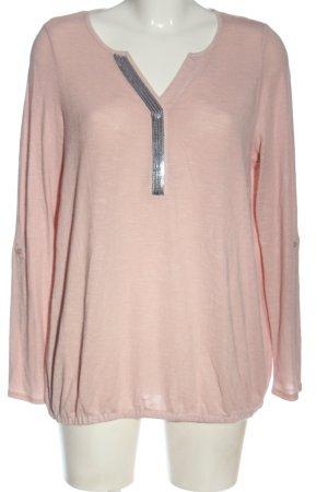 Gina Benotti Fine Knit Jumper pink casual look