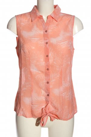 Gina Benotti Hemd-Bluse pink-weiß Allover-Druck Casual-Look
