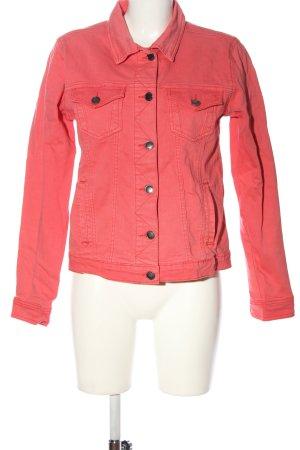 Gina Benotti Denim Jacket red casual look