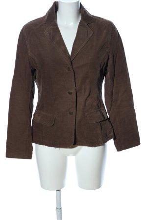 Gina Benotti Jersey Blazer marrón look casual