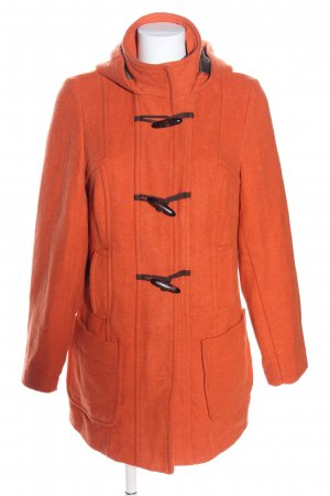 Gina Benotti Cappotto con cappuccio arancione chiaro stile casual