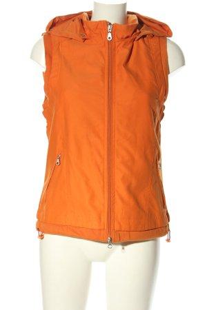 Gina Benotti Gilet à capuche orange clair style décontracté