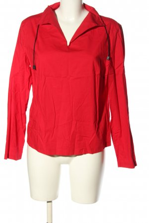 Gina Benotti Langarm-Bluse rot Casual-Look