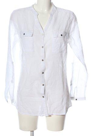 Gina Benotti Shirt met lange mouwen wit zakelijke stijl