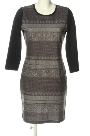 Gina Benotti Longsleeve Dress black-brown graphic pattern casual look