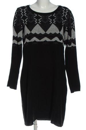 Gina Benotti Longsleeve Dress black-light grey mixed pattern casual look