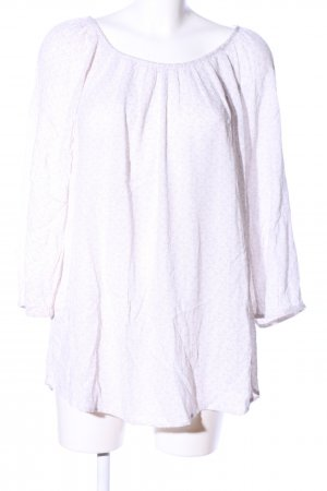 Gina Benotti Long Blouse white-pink graphic pattern casual look