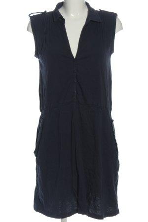 Gina Benotti Midi Dress blue striped pattern casual look