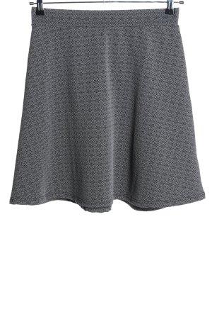 Gina Benotti High Waist Skirt light grey-black allover print casual look