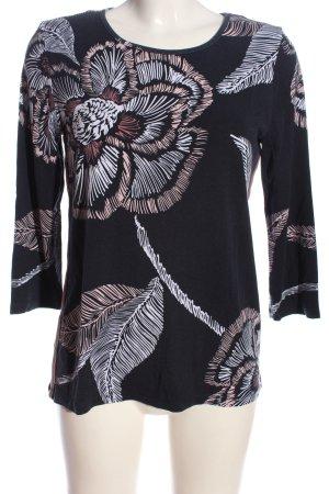 Gina Benotti Print-Shirt schwarz-weiß Allover-Druck Casual-Look