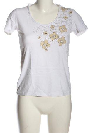 Gina Benotti Print-Shirt weiß-wollweiß Motivdruck Casual-Look