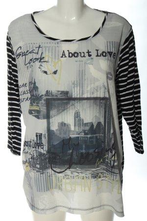 Gina Benotti Stripe Shirt themed print casual look