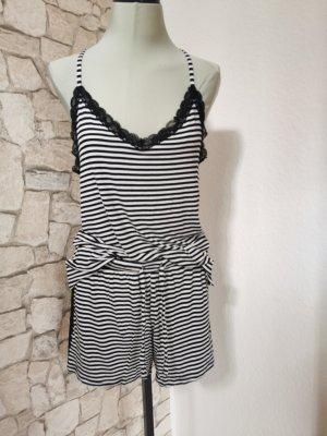 Gina Benotti Pyjama white-black