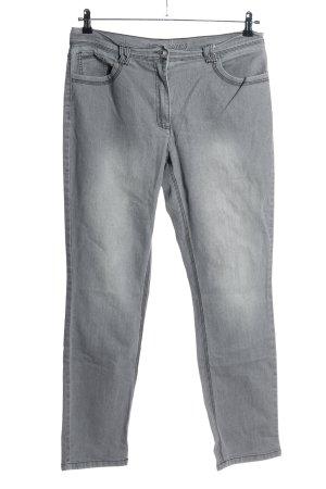 Gina Benotti Slim jeans lichtgrijs casual uitstraling