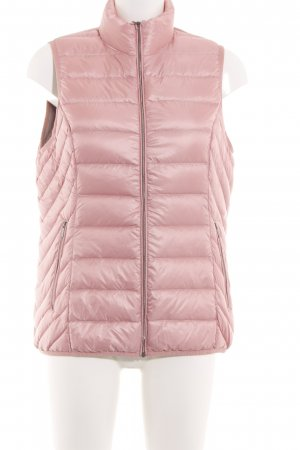 Gina Benotti Quilted Gilet pink quilting pattern casual look