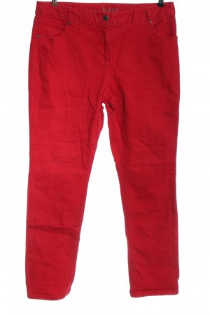 Gina Benotti Straight Leg Jeans red casual look