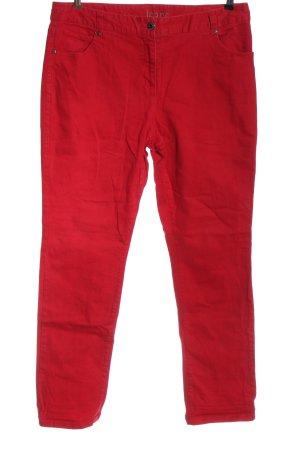 Gina Benotti Jeansy z prostymi nogawkami czerwony W stylu casual