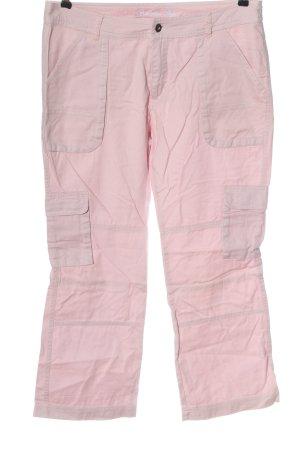 Gina Benotti Jeansy z prostymi nogawkami różowy W stylu casual