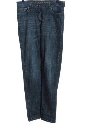 Gina Benotti Jeansy z prostymi nogawkami niebieski W stylu casual