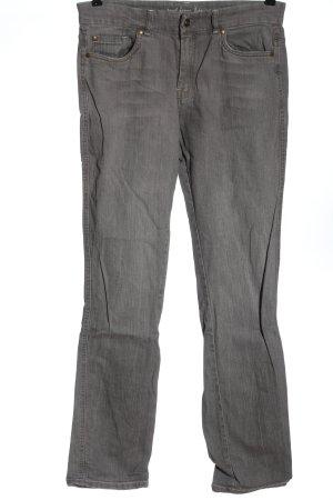 Gina Benotti Jeansy z prostymi nogawkami jasnoszary W stylu casual