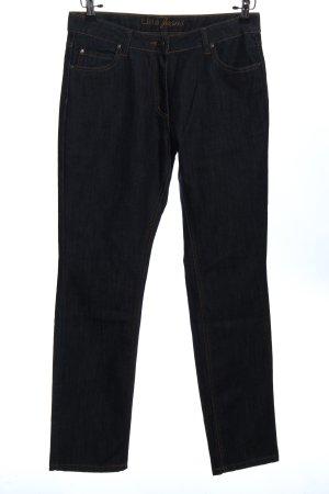 Gina Benotti Jeansy z prostymi nogawkami czarny W stylu casual