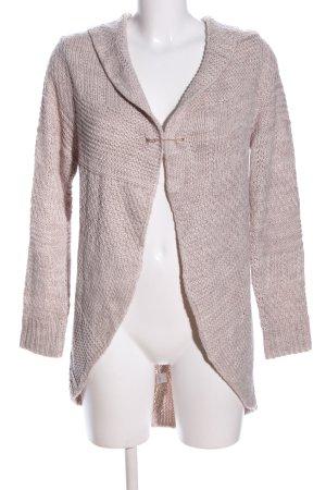 Gina Benotti Manteau en tricot blanc cassé torsades style décontracté